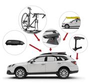Tous les produits Yakima: supports et accessoires de voiture