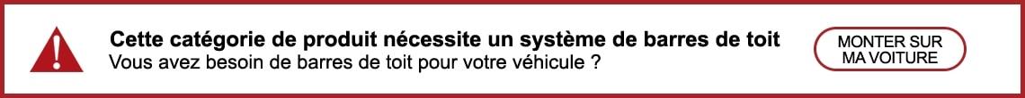 Besoin de barres de toit pour votre voiture
